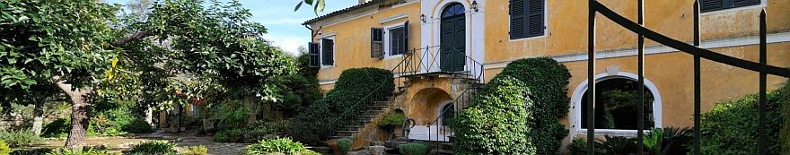 The Rise and Fall of Corfu's Mansions