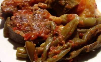 Meat and Green Beans