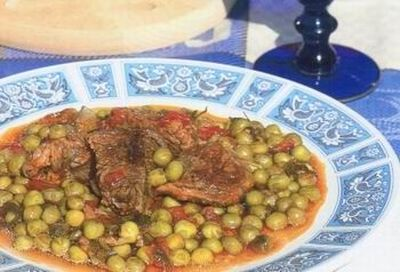 Corfu Recipes - Beef and Pea Stew