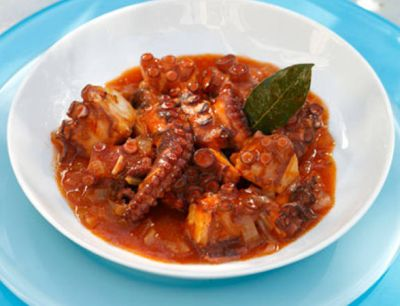 Octopus with Paprika