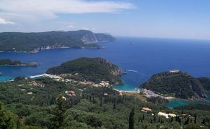 A drive around north-west Corfu