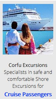 Corfu Excursions, specialists in safe and comfortable shore excursions for cruise passengers.